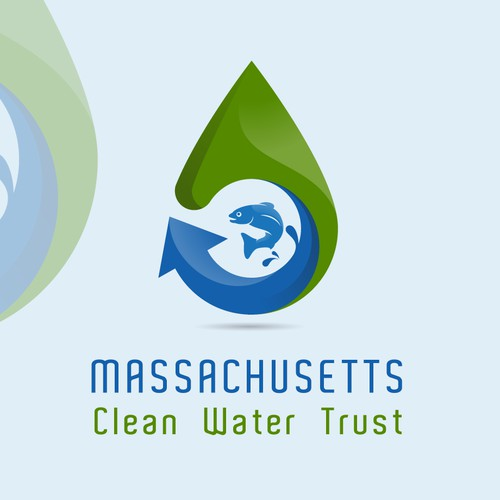 Create a new logo to help promote clean water in Massachusetts.