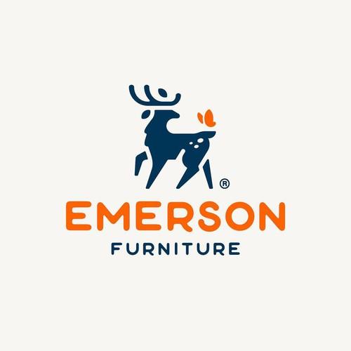 logo deer