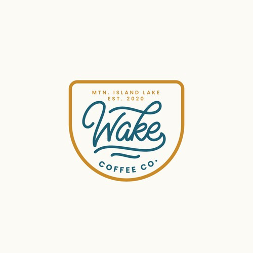Hand Lettering Logo for Coffee Company