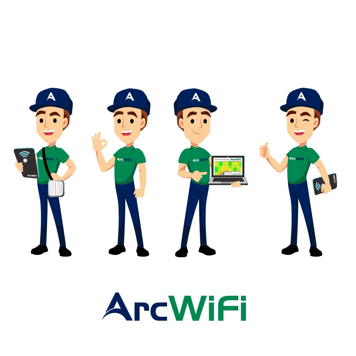 Design a mascot for high profile Wi-Fi company