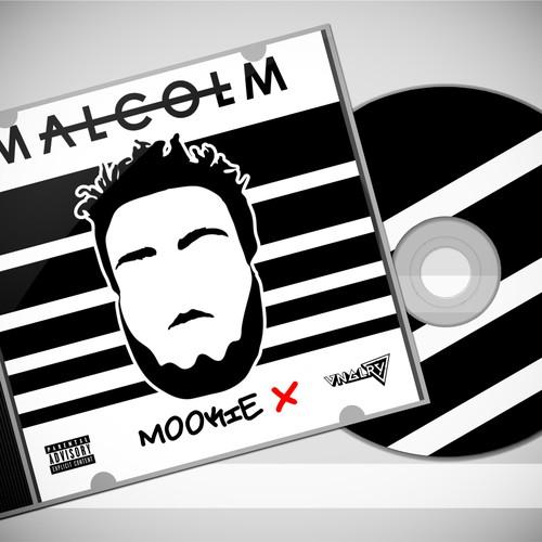 "@Mookiex ""MALCOLM"" Album art"