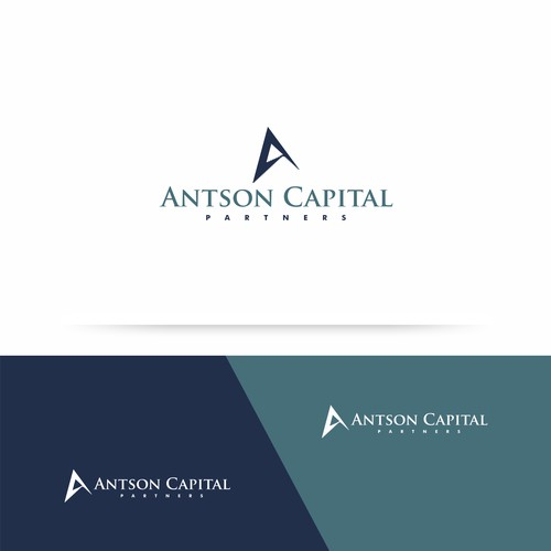 logo and business card for Antson Capital Partners