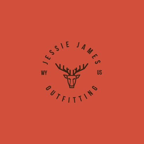 modern emblem style logo design