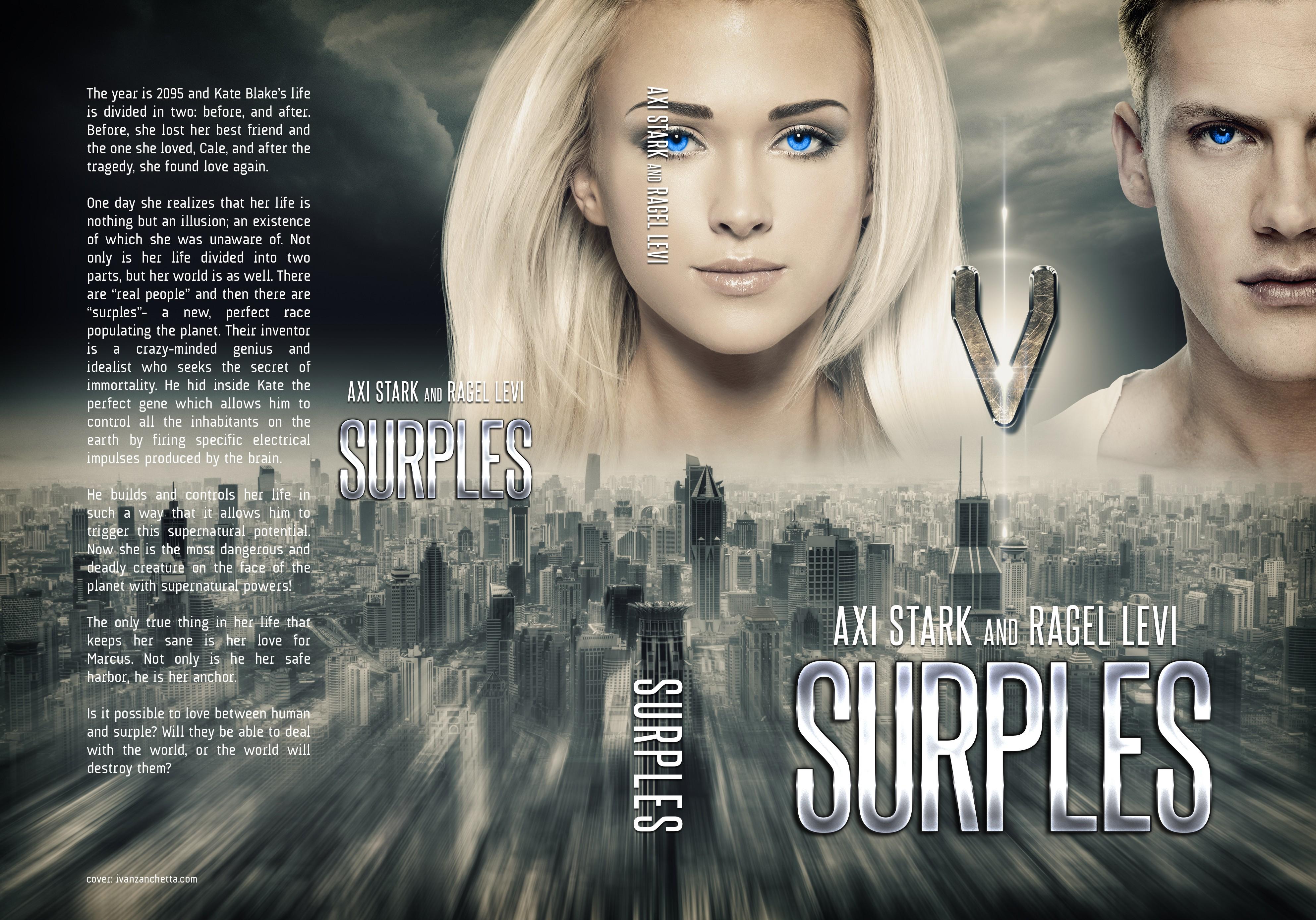"SKYFI, Fantasy - romance novel ""SURPLES"""