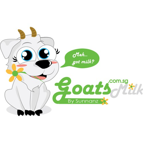 Cute yet serious business logo needed for our store selling UHT goats milk