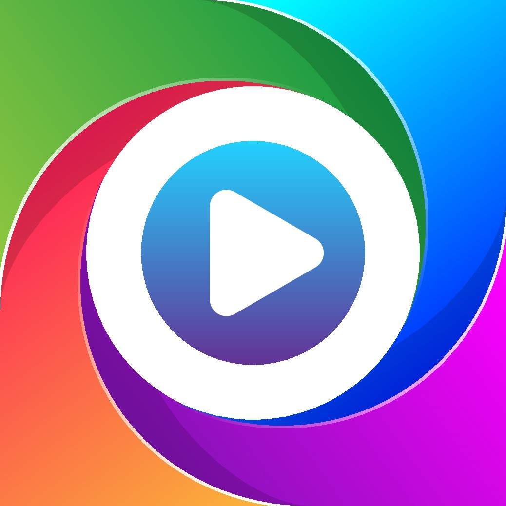 Icon for mobile video editor for short videos
