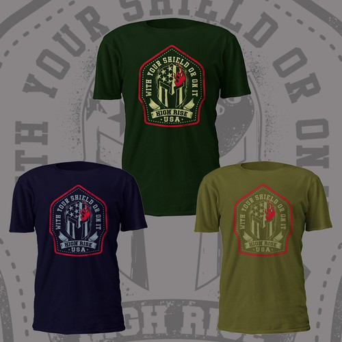firefighter t-shirt design