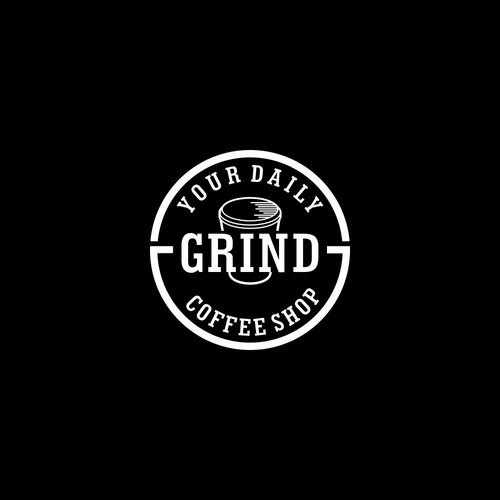 GRIND coffee shop logo