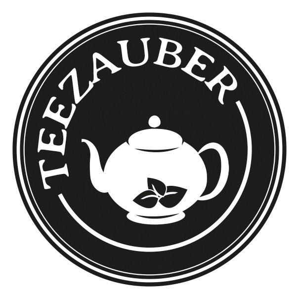 Create a modern logo for a new teashop called Teezauber