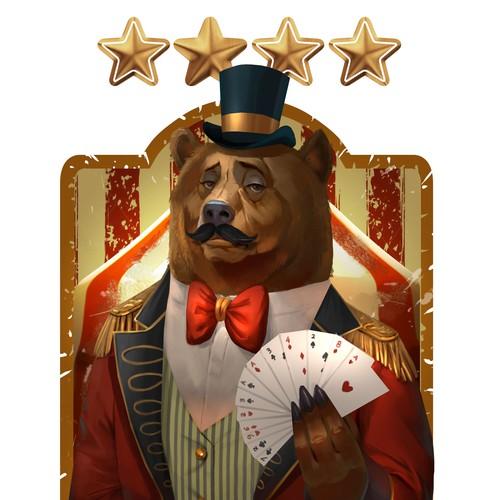 circuss bear