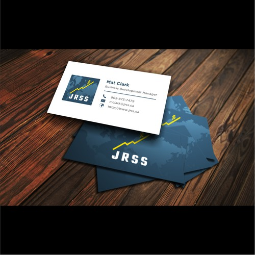 Brand name to include on the business card  J.R. Staffing Solutions