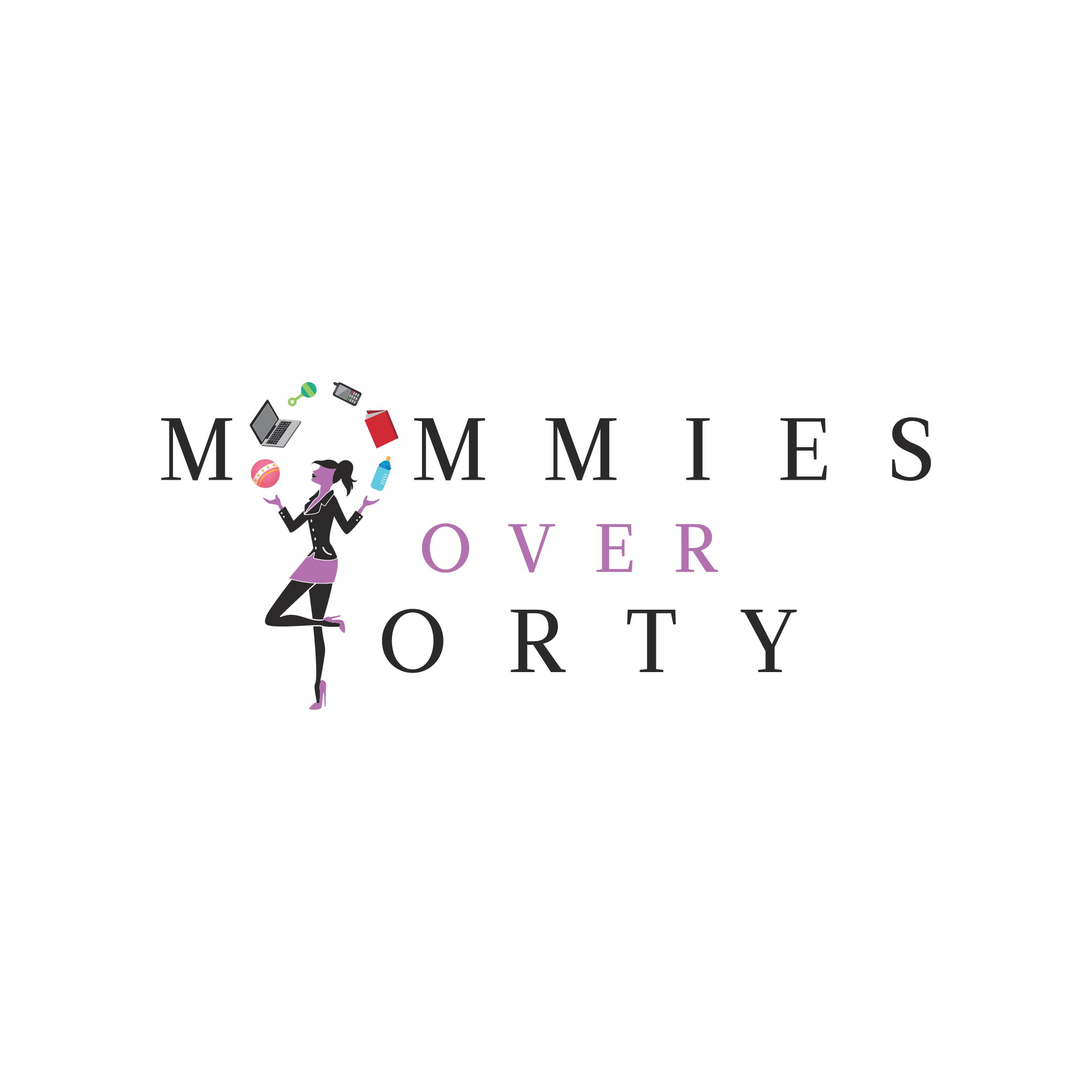 Design sophisticated & fun logo for first time mothers in their forties.