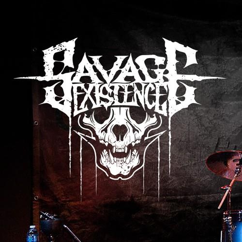 Savage Existence logo.