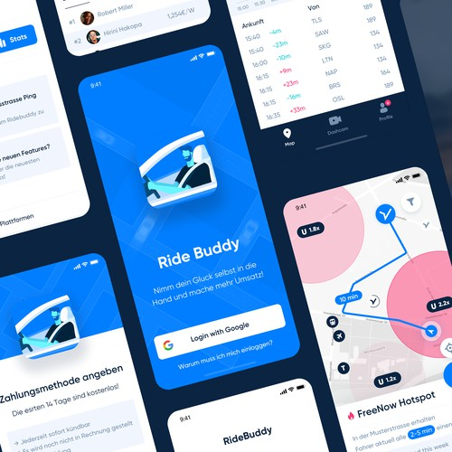 Ride Buddy App