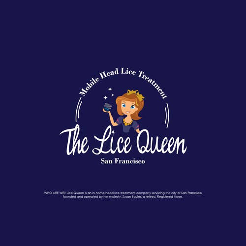 Logo Design for the Lice Queen