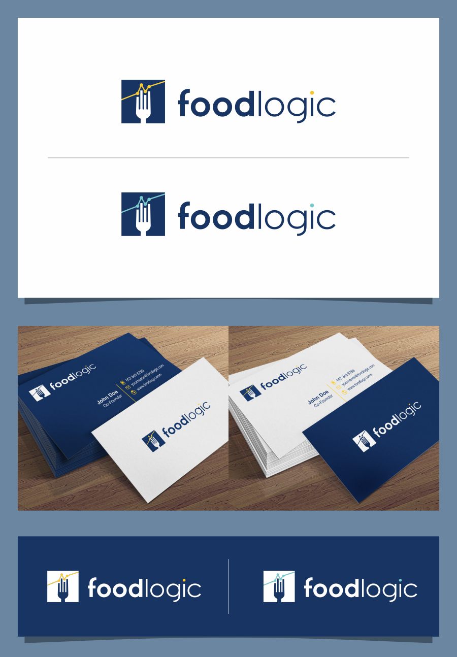 Create a logo/biz card for the next big idea in Restaurant Technology