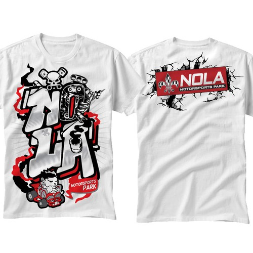 BOYS graffiti style shirt for NMSP