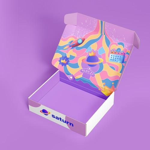 Fun packaging box design
