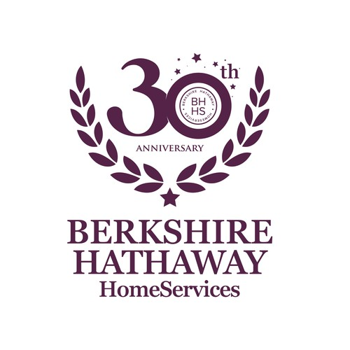 Real Estate brokerage 30th anniversary design to complement our current logo