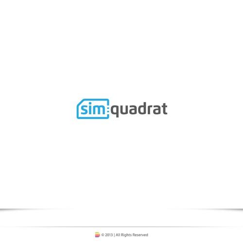 logo für simquadrat