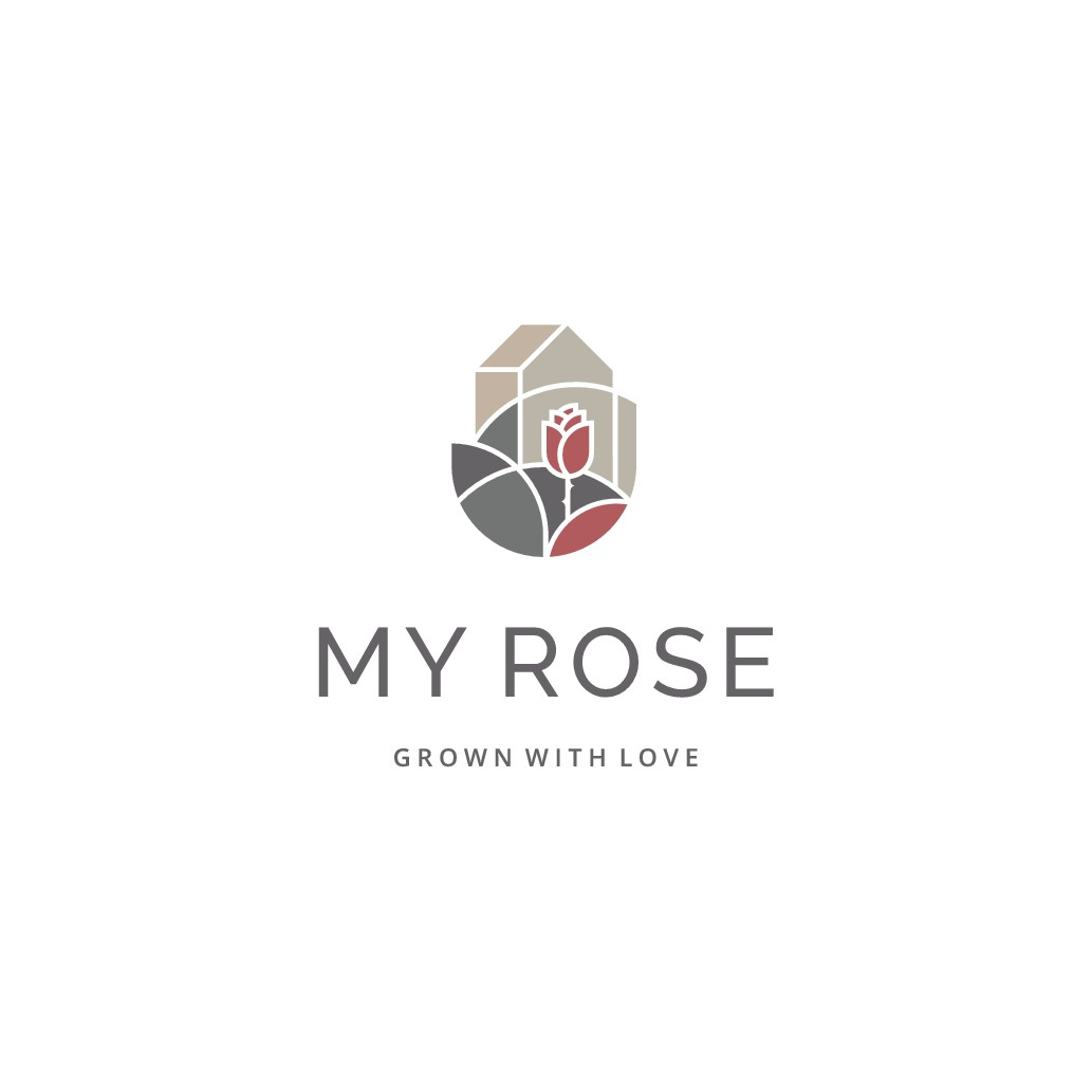 Logo design in a modern chic style