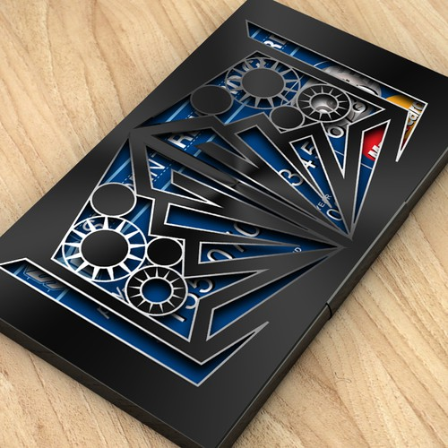 stainless steel card holder