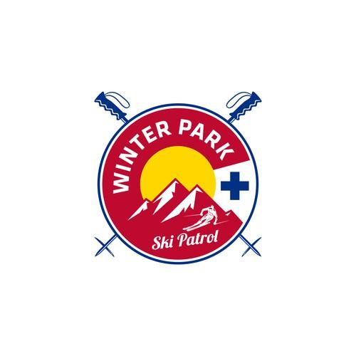 Won design for  Winter Park Ski Patrol