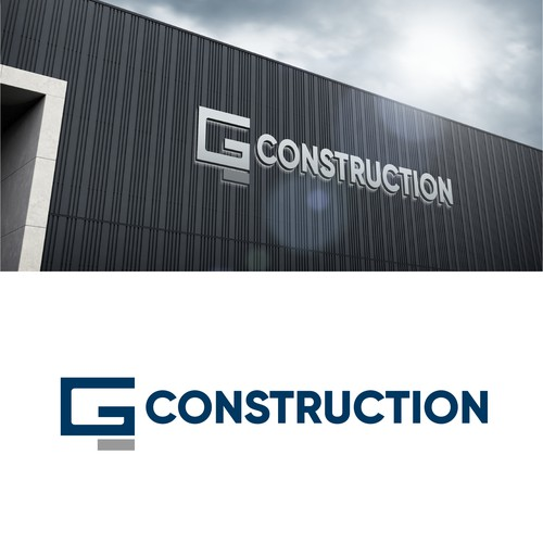 Iconic Logo for modern Concrete construction company