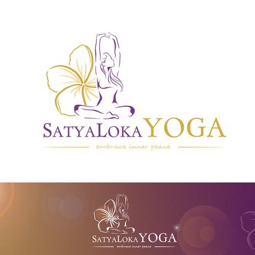 Besonderes Design für eines Yogastudios