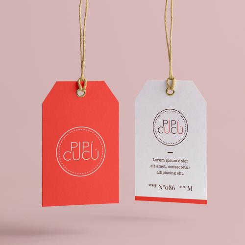 elegant & playful logo for Baby fashion brand