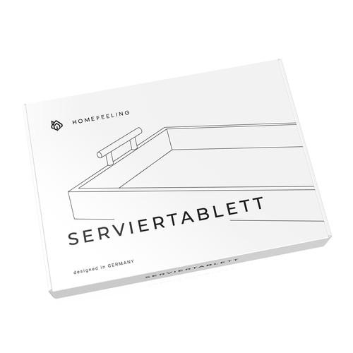 HomeFeeling - Tray packaging