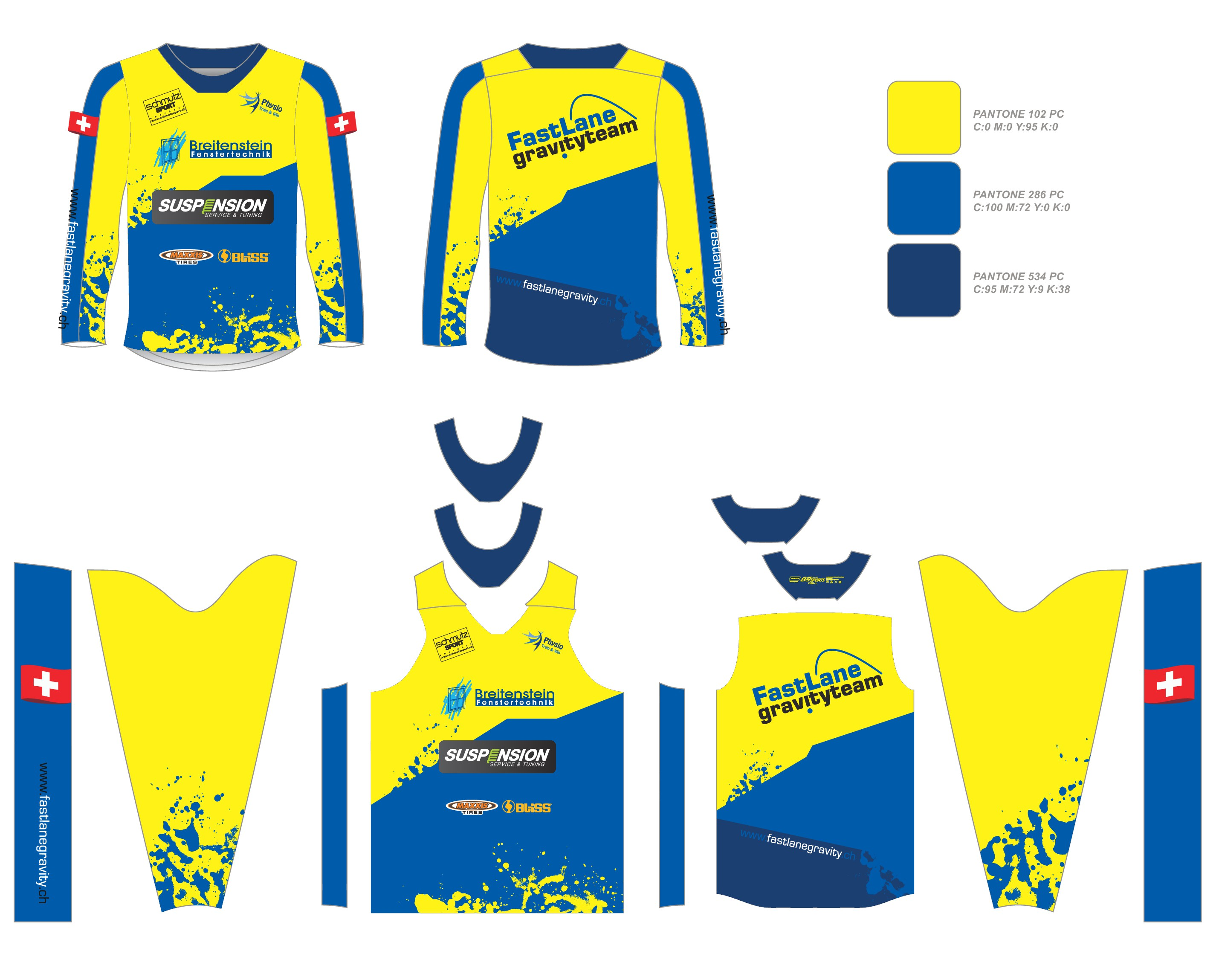 Create a cool Jersey for our Mountainbike - Kiddies