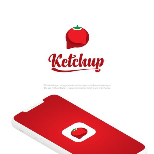 Ketchup Logo Design