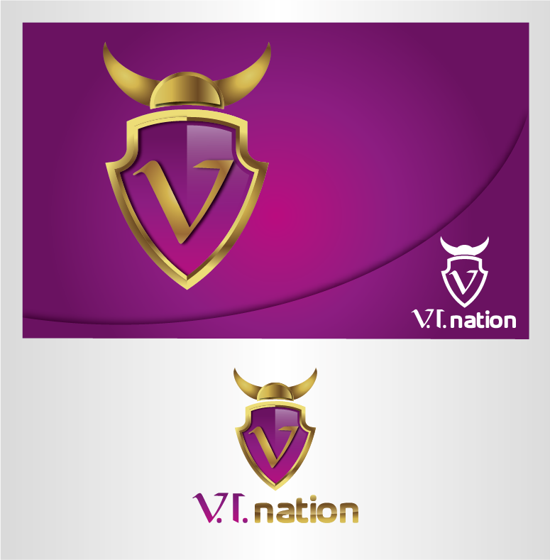 Help v.i.nation with a new logo