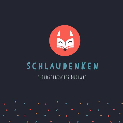 Fresh and playful Logo for philosophic bookshop