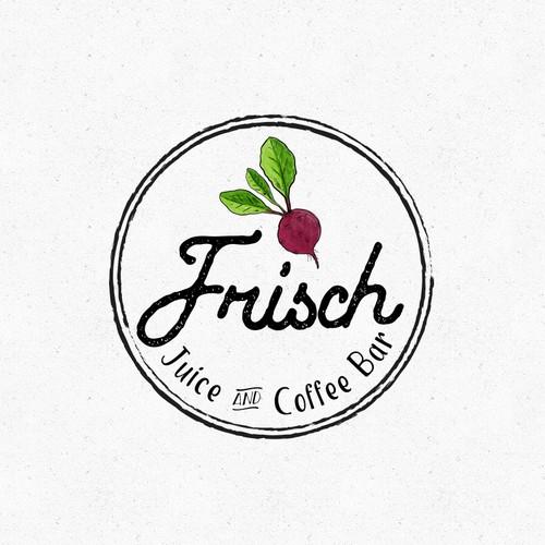 Frisch Juicerie Vintage Logo