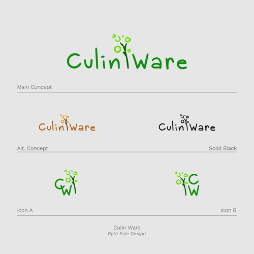 Logo:: Culin Ware (Green)