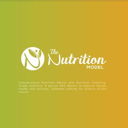 Wordmark or Pictorial mark Logo that is fun and attractive for The Nutrition Model