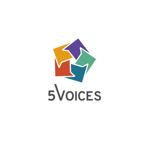 The 5 Leadership Voices Logo