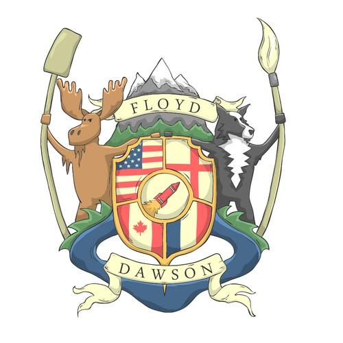 Floyd-Dawson family crest