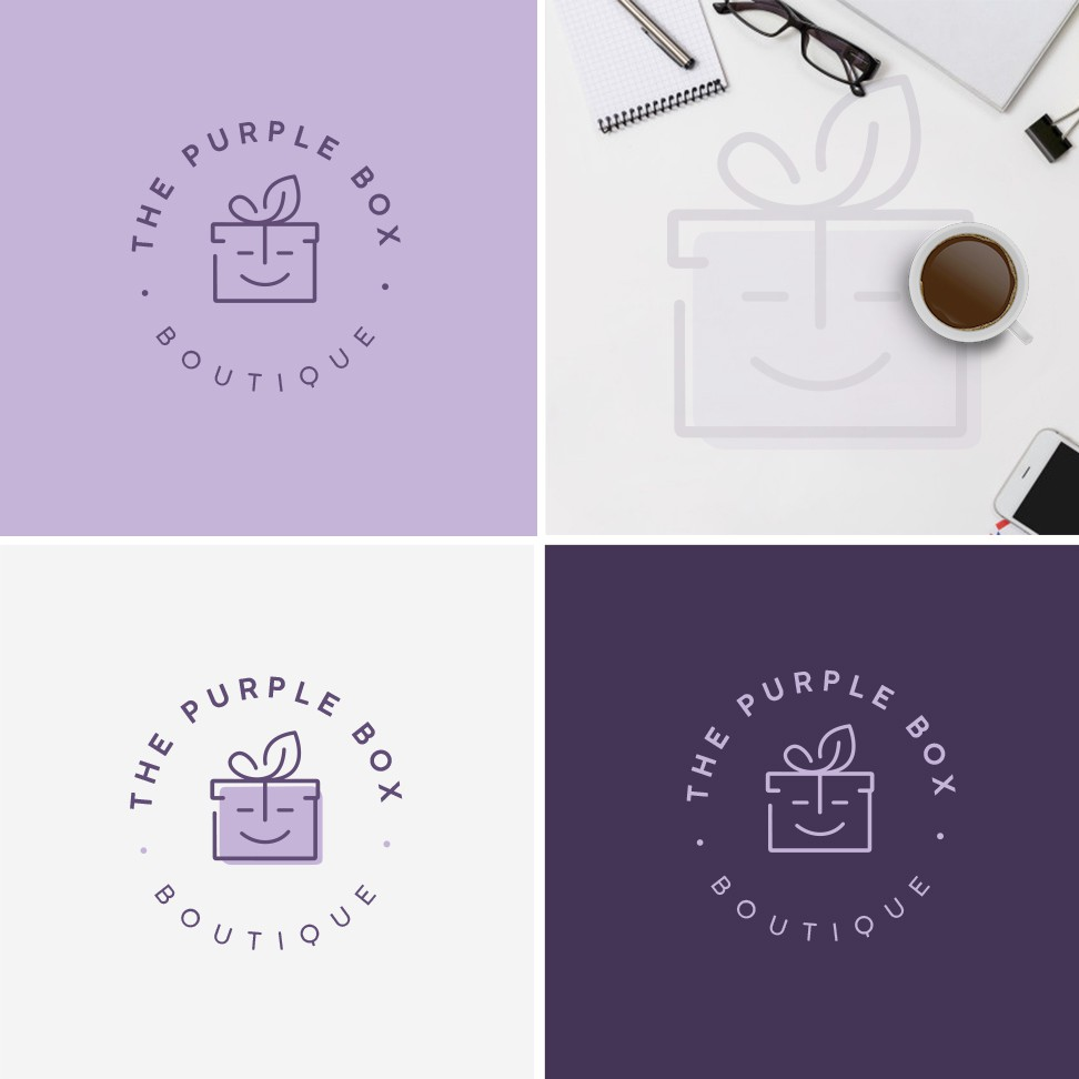 Design a modern logo for online boutique for seasonal and decor items