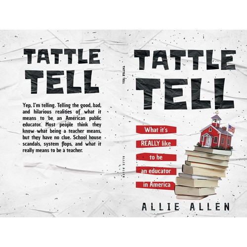 "Book Cover for ""Tattle Tell"" Book"