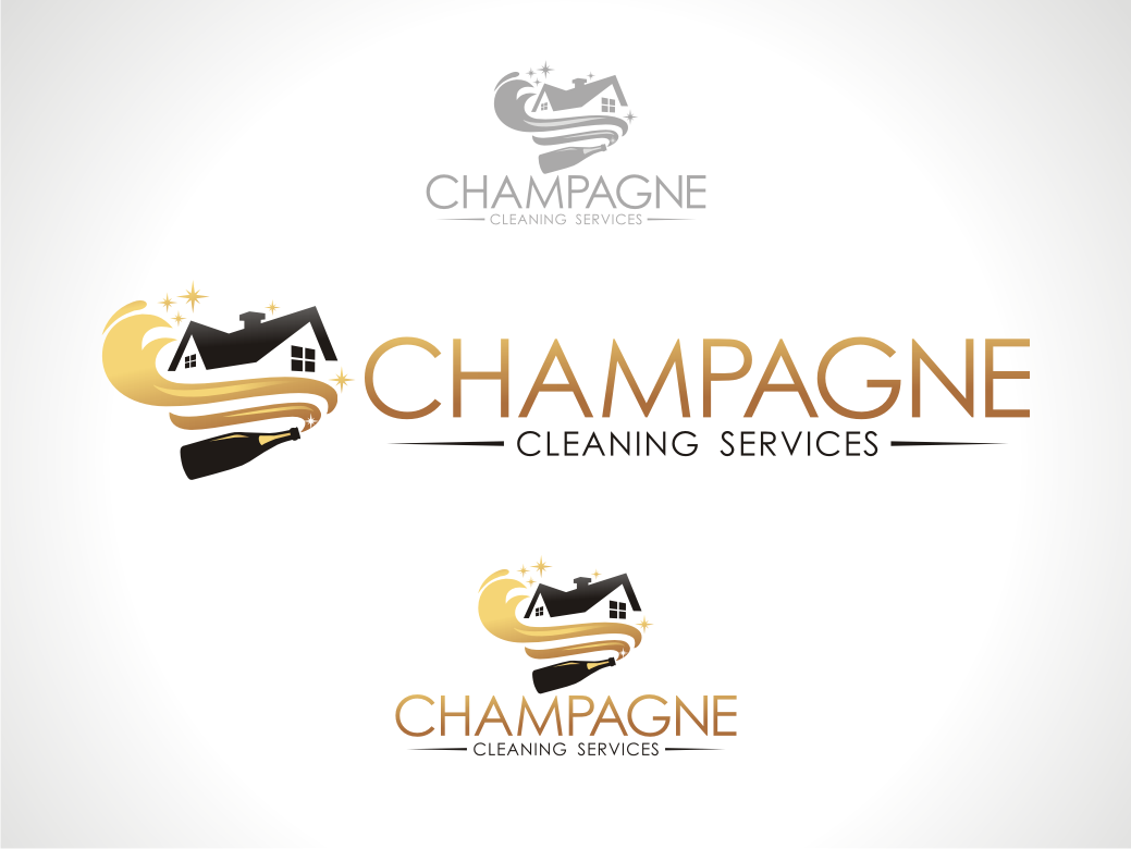 New logo wanted for Champagne Cleaning Services