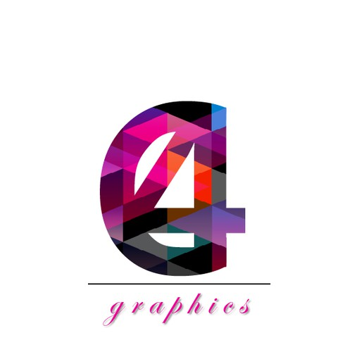 Geometric modern logo for Graphic Designing Company