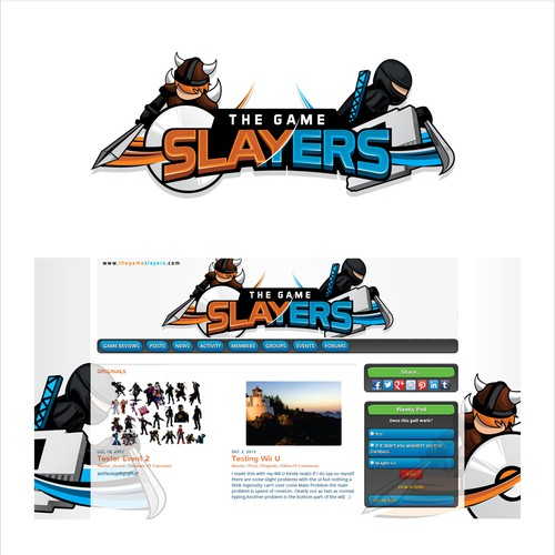 The Game Slayers logo!