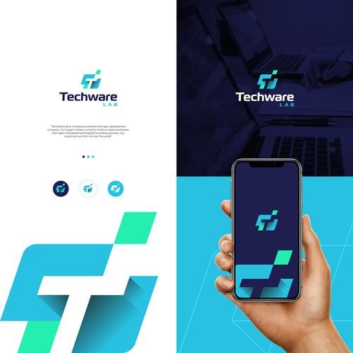 Logo designed for a tech company