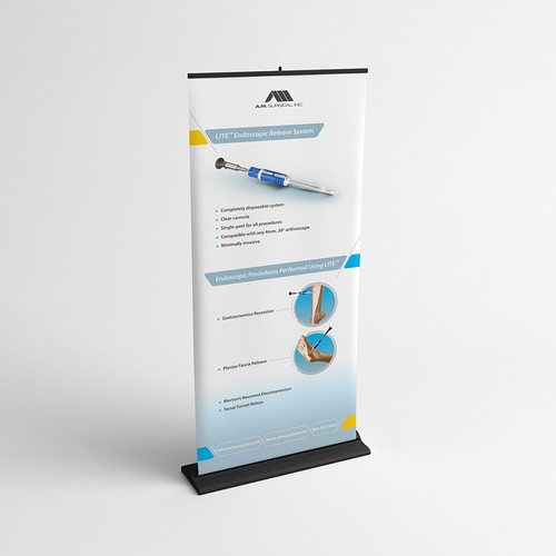 LITE™ Roll-Up Banner