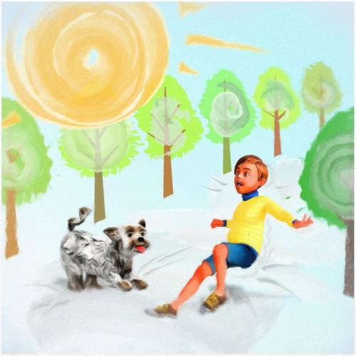 Illustration for kids' book