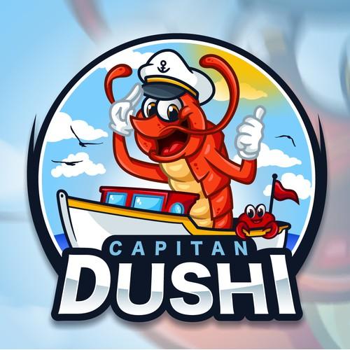 Logo/Mascot Capitan Dushi