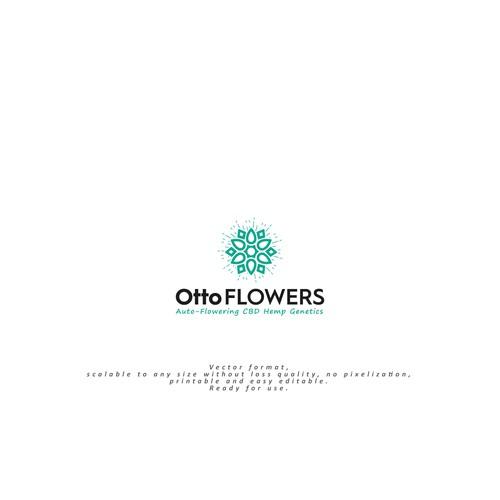Logo for Otto flowes- hemp company
